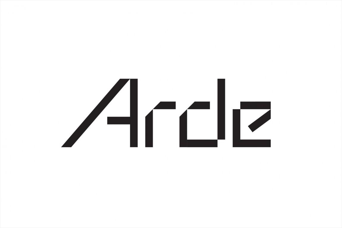 建筑设计公司Arde优秀企业形象设计, 字体标志设计