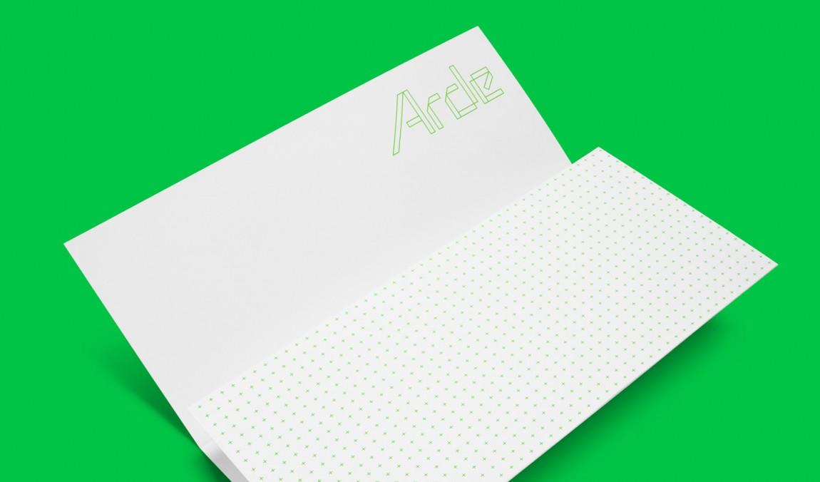 建筑设计公司Arde优秀企业形象设计, 办公应用设计