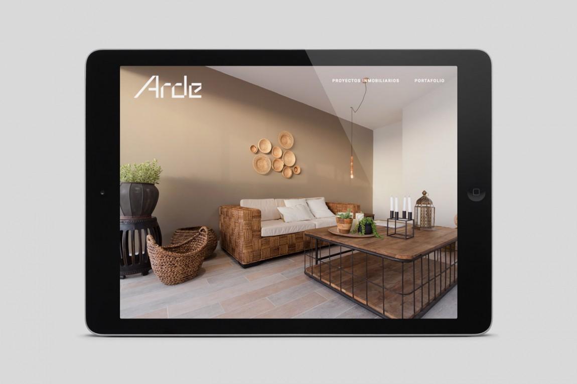 建筑设计公司Arde优秀企业形象设计,企业官网设计