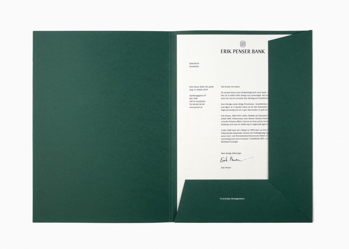 高端金融私人银行vi整体形象设计,文件夹设计