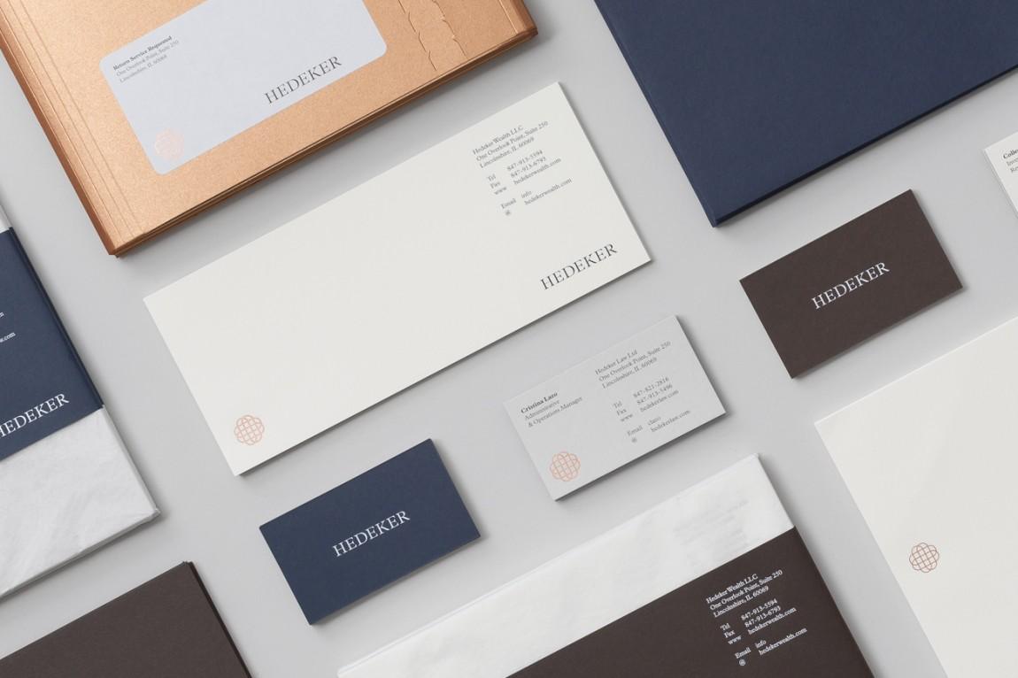 遗产和权威的盾牌:Hedeker的新品牌形象设计,企业VI设计