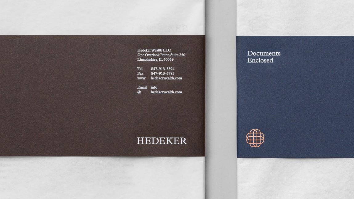 遗产和权威的盾牌:Hedeker的新品牌形象设计,企业画册设计