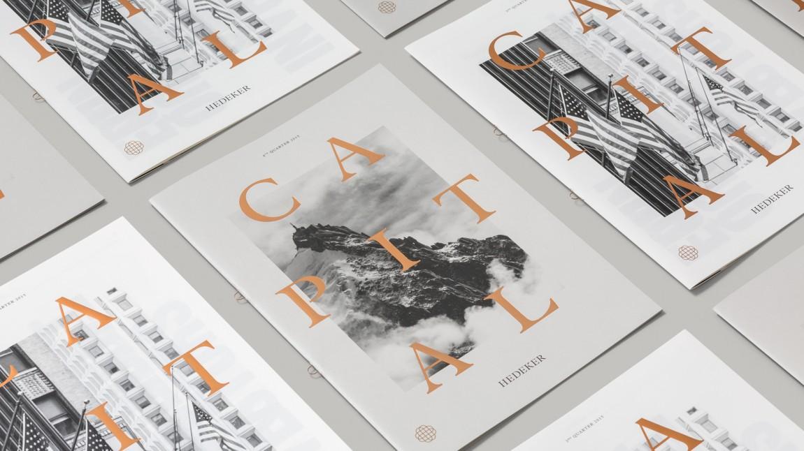 遗产和权威的盾牌:Hedeker的新品牌形象设计,画册设计