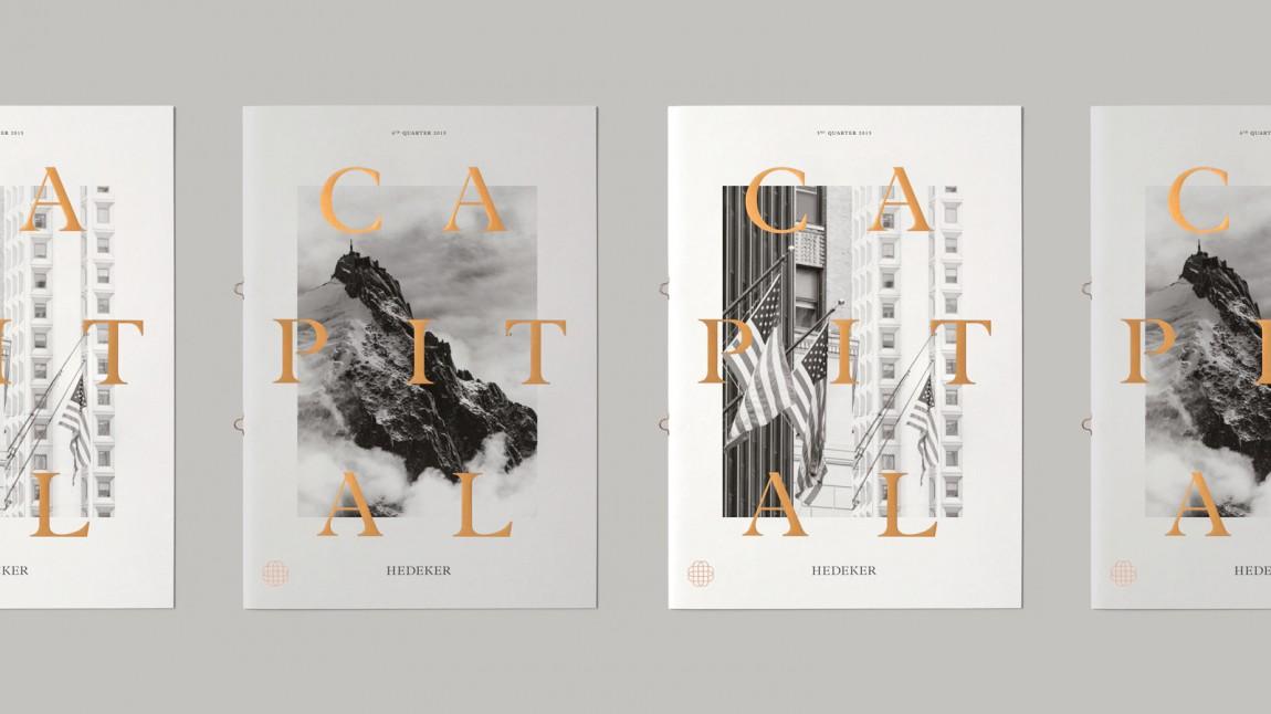 遗产和权威的盾牌:Hedeker的新品牌形象设计,市场推广设计