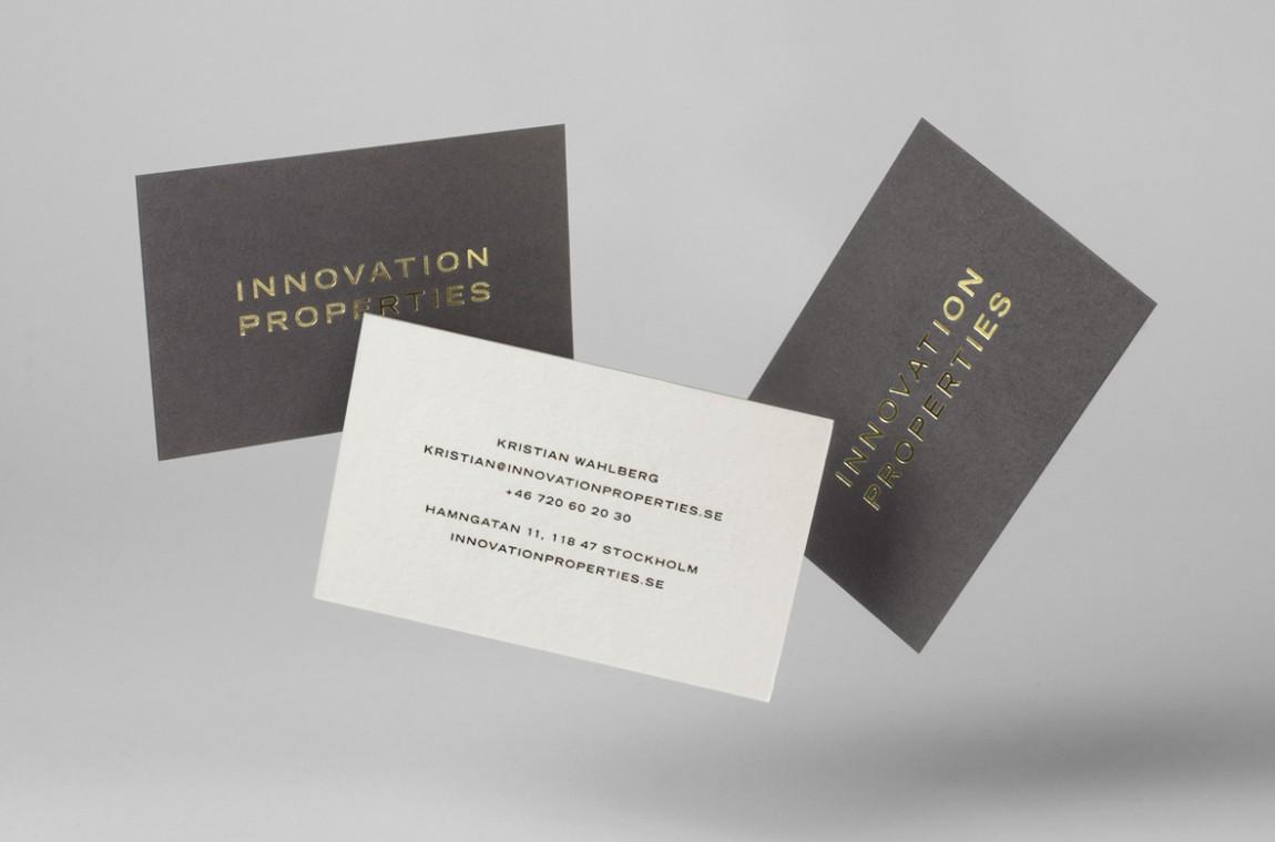 Innovation Properties的新企业形象设计,企业形象设计