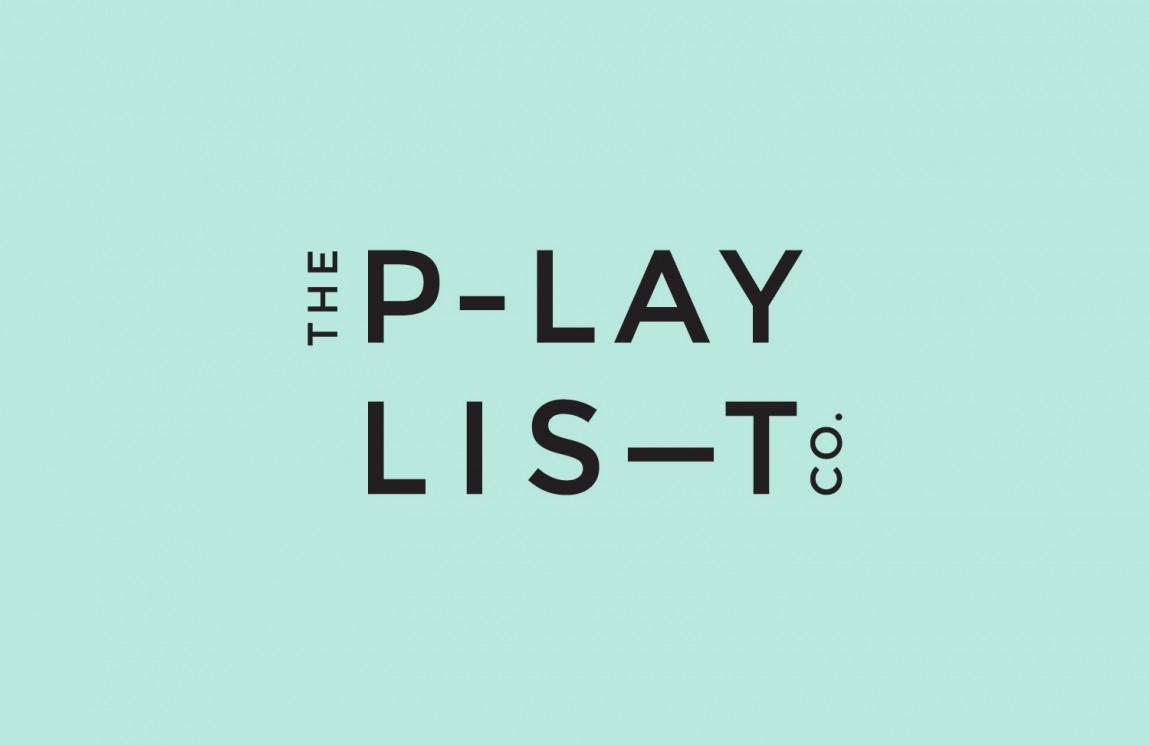 Playlist Co.音乐管理咨询服务公司品牌视觉形象设计,vi设计,logo设计