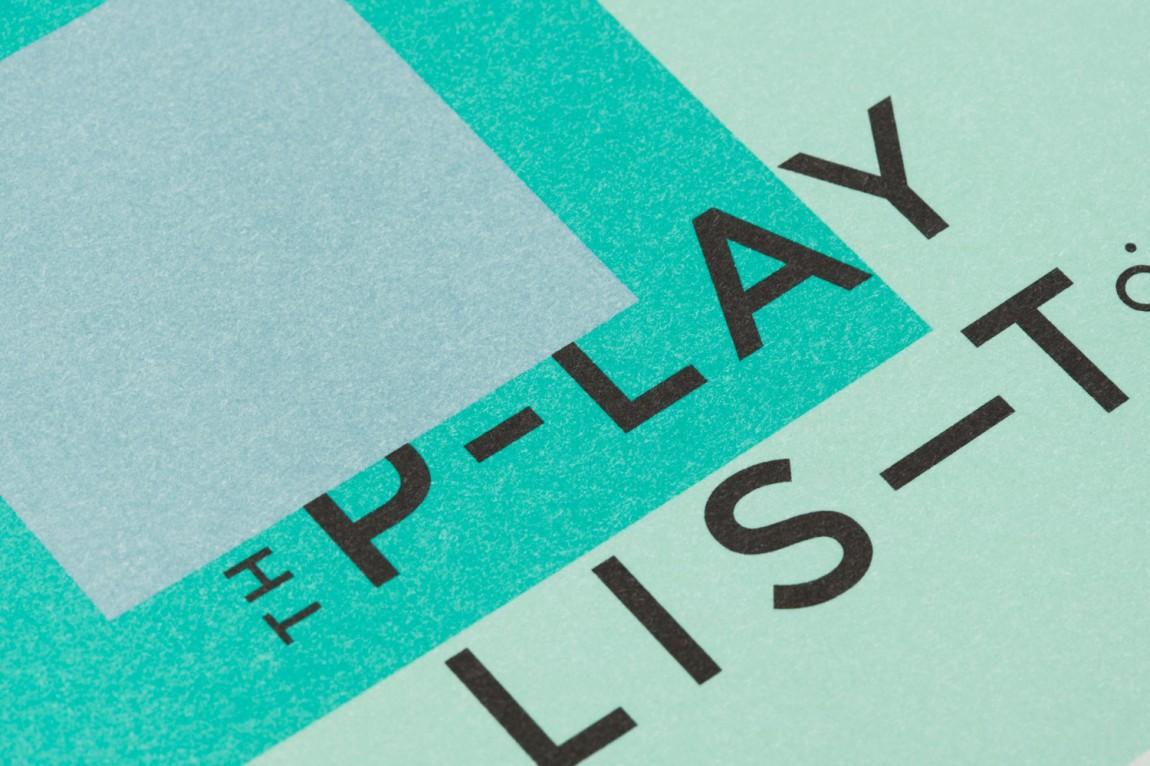 Playlist Co.音乐管理咨询服务公司品牌视觉形象设计,vi设计, 高端印刷设计