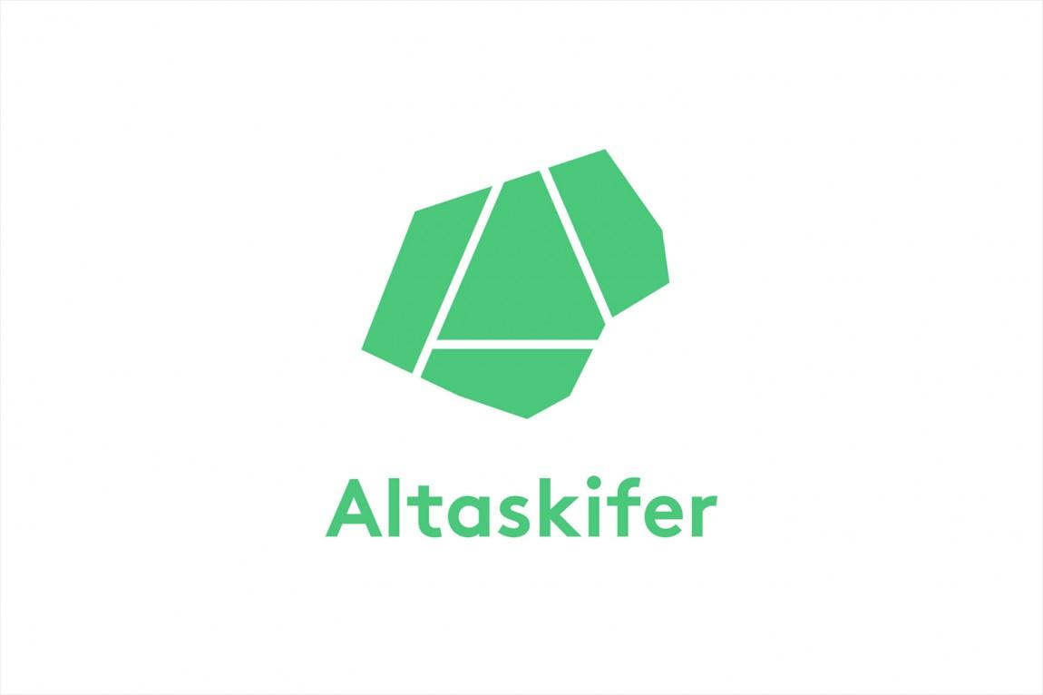 挪威石料公司Altaskifer的新品牌vi设计,logo设计