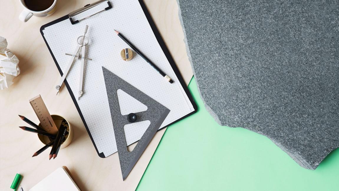 挪威石料公司Altaskifer的新品牌vi设计,办公应用设计