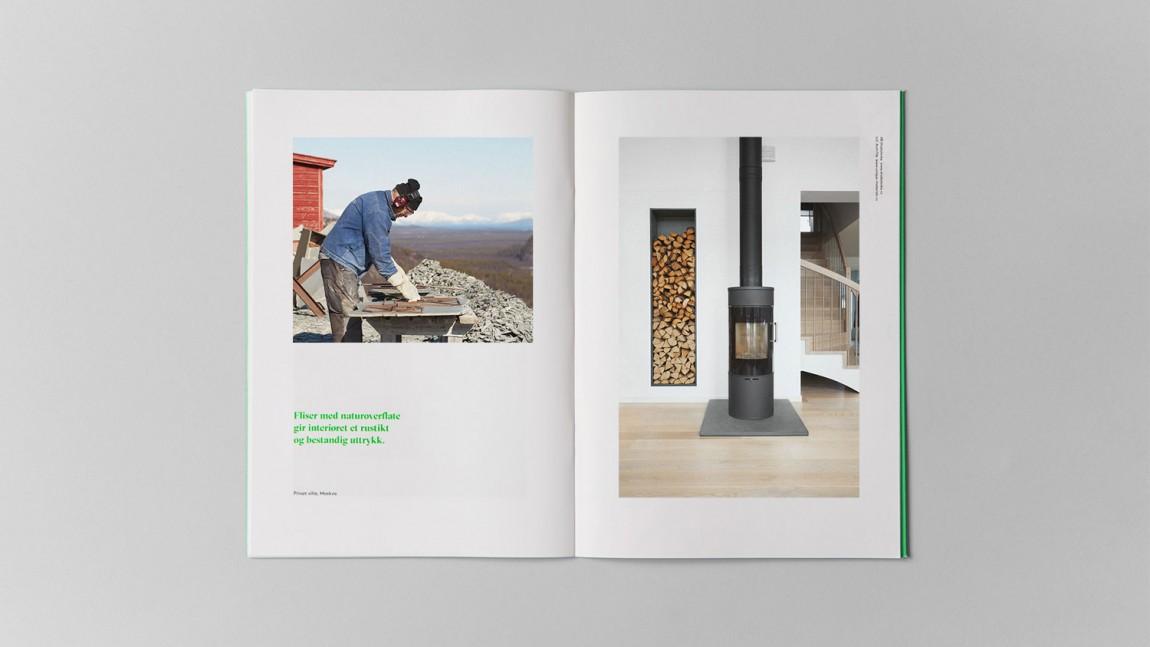 挪威石料公司Altaskifer的新品牌vi设计,企业画册设计