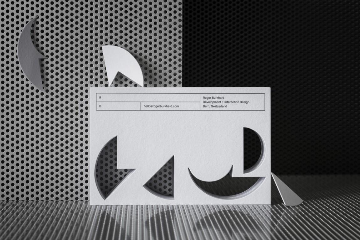 Roger创意开发互动工作室logo设计,公司vi设计