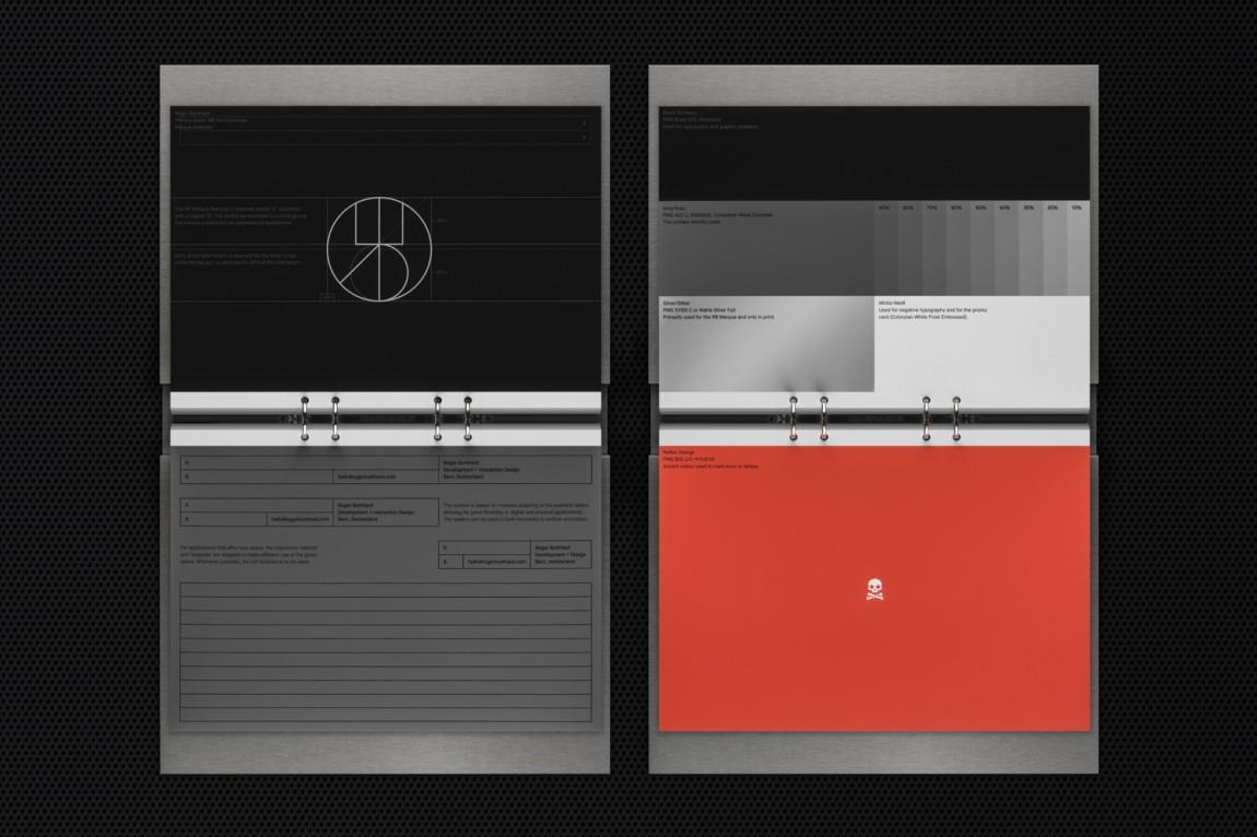 Roger创意开发互动工作室logo设计,日历设计