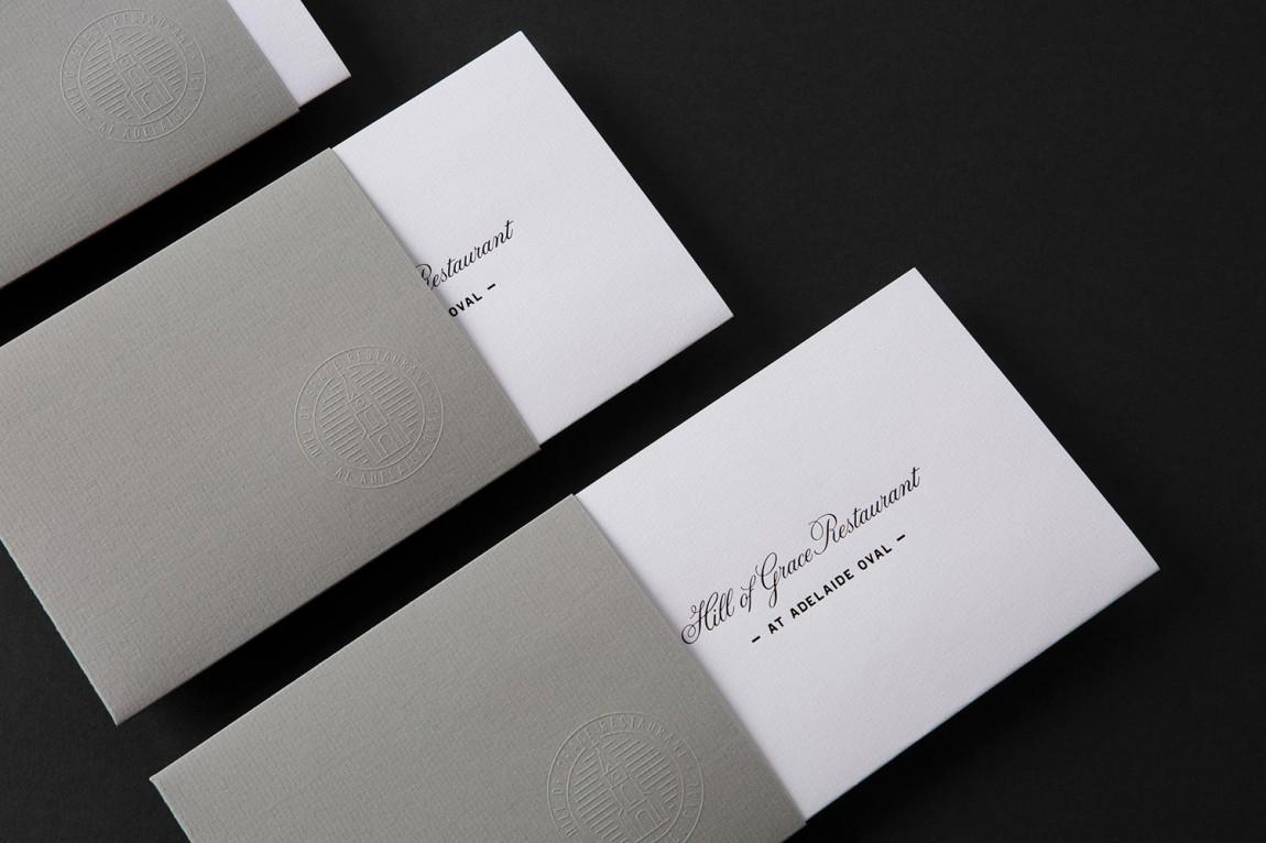希尔优雅餐厅品牌形象设计( 餐饮vi设计 ),信封设计