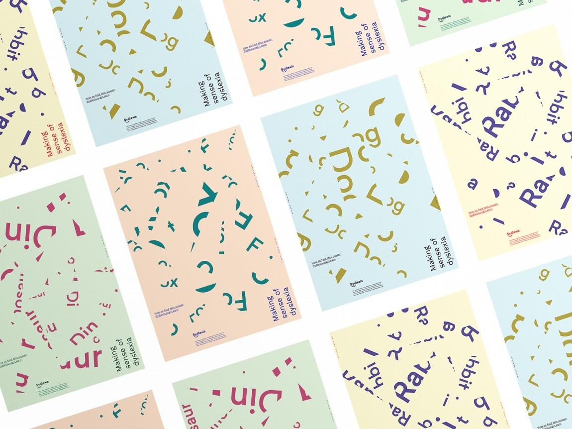 Sydlexia教育平台品牌形象塑造(学校vi设计),海报设计