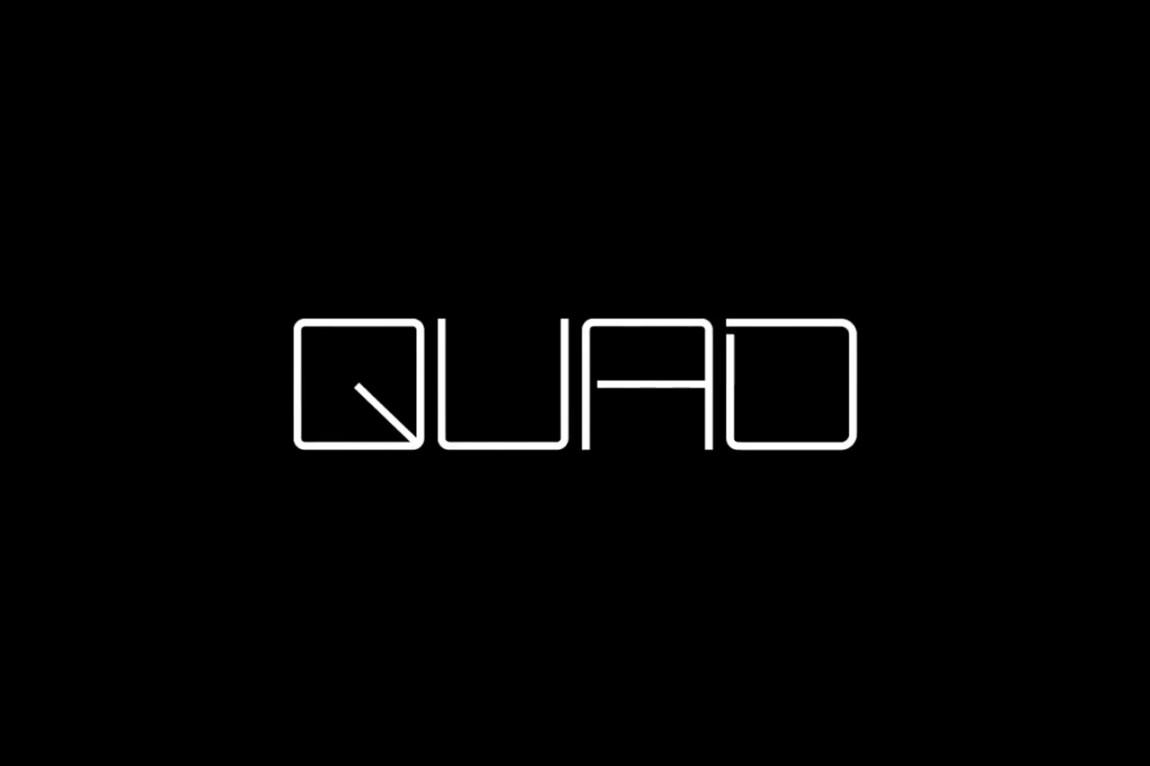 Quad Cinema影院品牌形象设计全案,logo设计