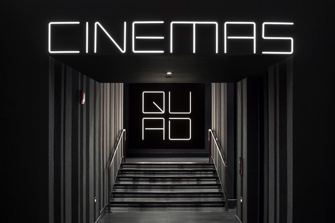 Quad Cinema影院品牌形象设计全案, 导视设计