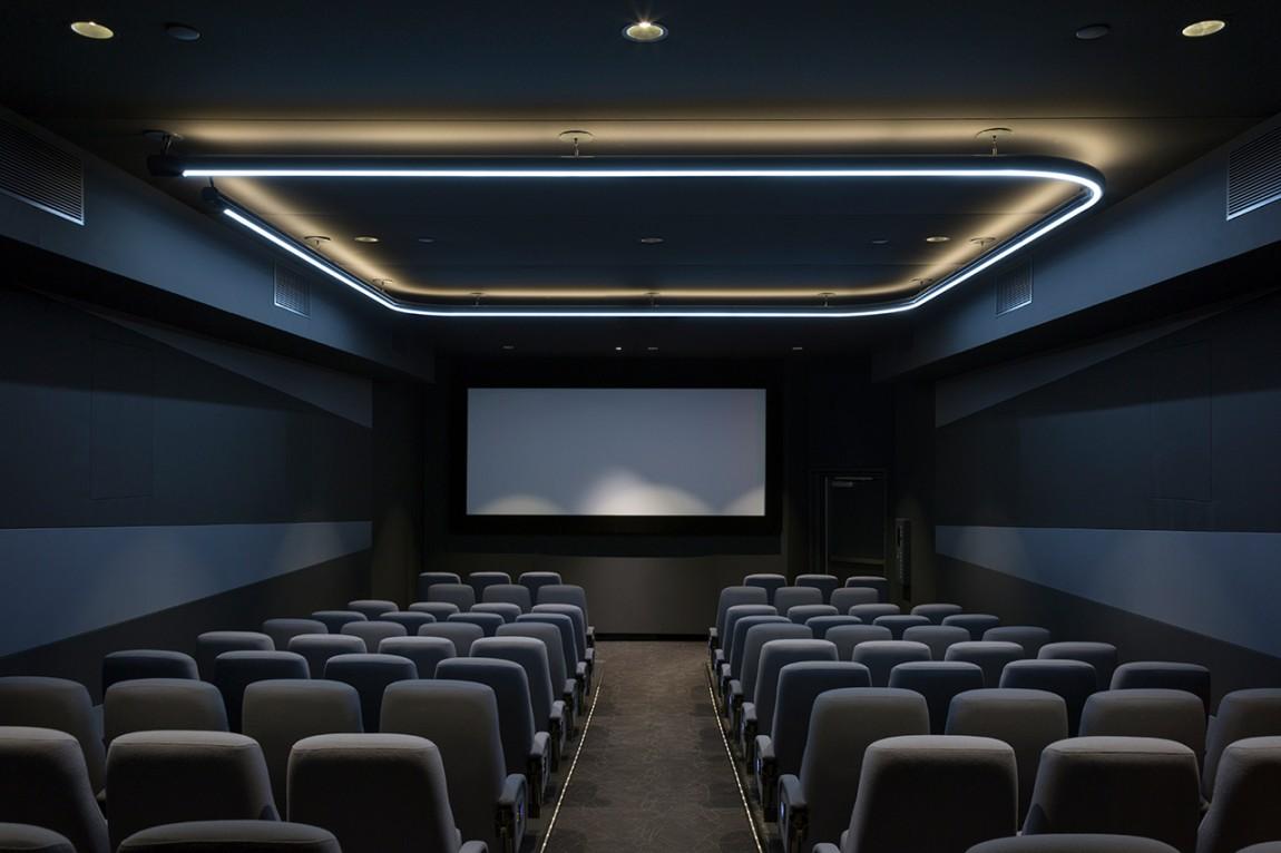 Quad Cinema影院品牌形象设计全案,影院放映厅设计