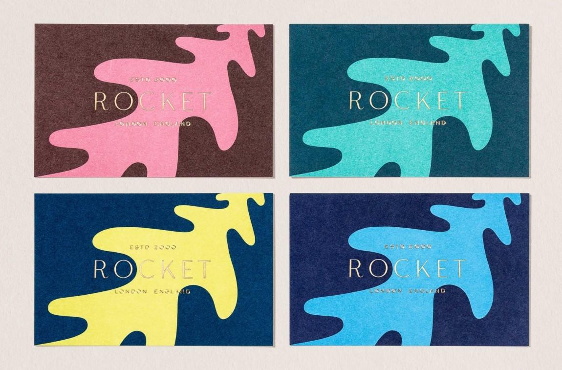 Rocket小型餐饮公司vis品牌设计全案, 名牌设计