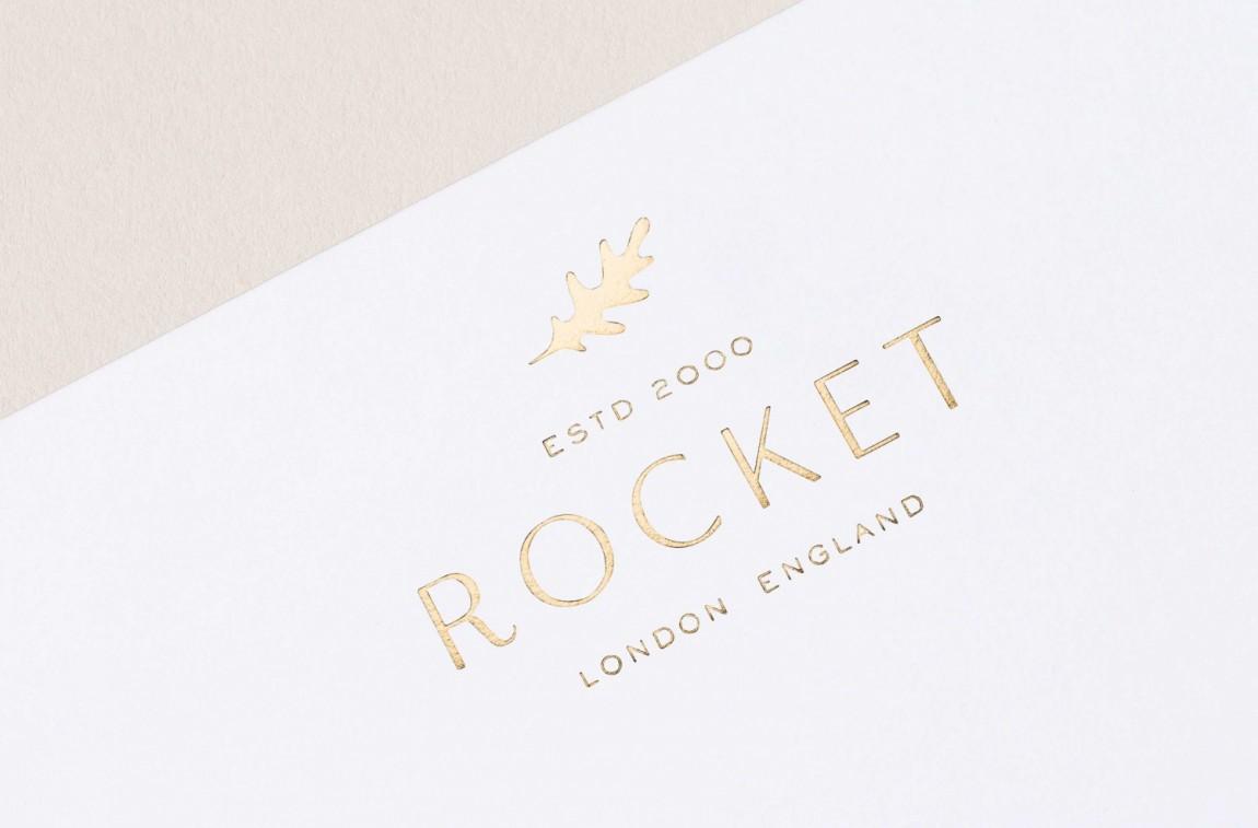 Rocket小型餐饮公司vis品牌设计全案, logo设计