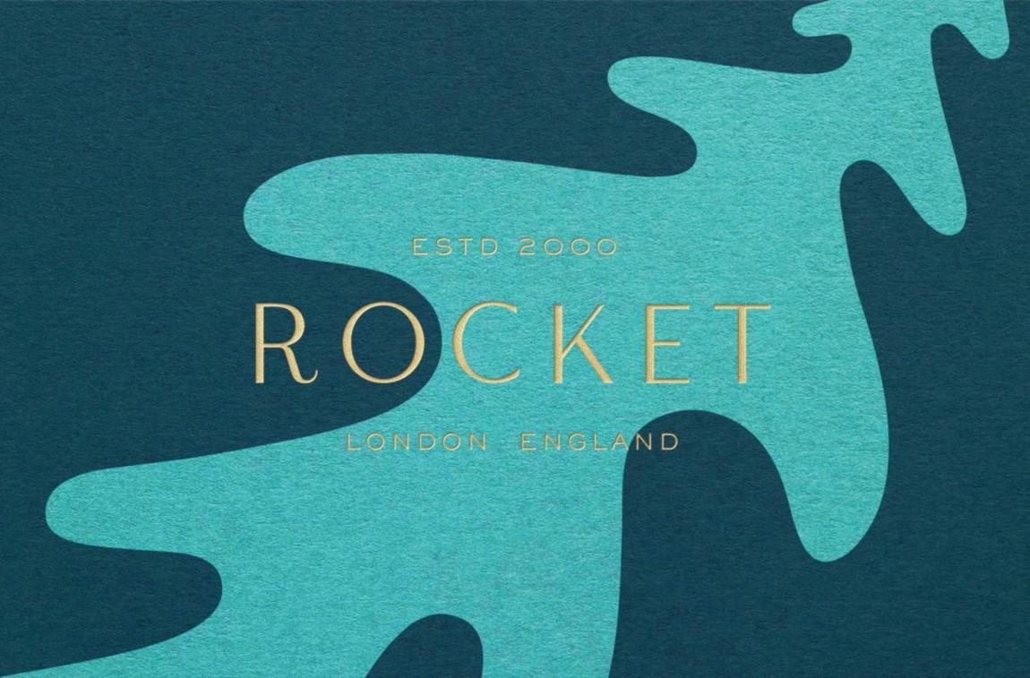 Rocket小型餐饮公司vis品牌设计全案, 商标设计