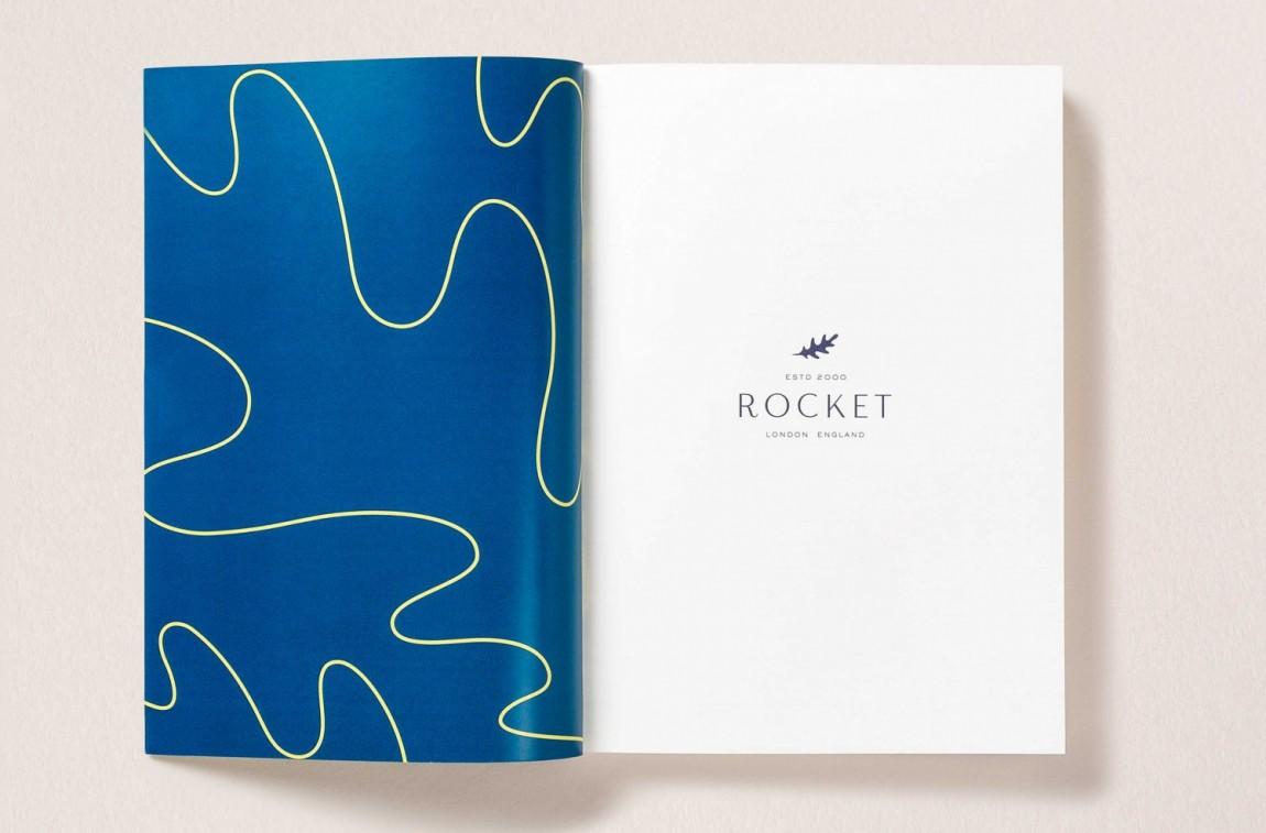 Rocket小型餐饮公司vis品牌设计全案,画册设计