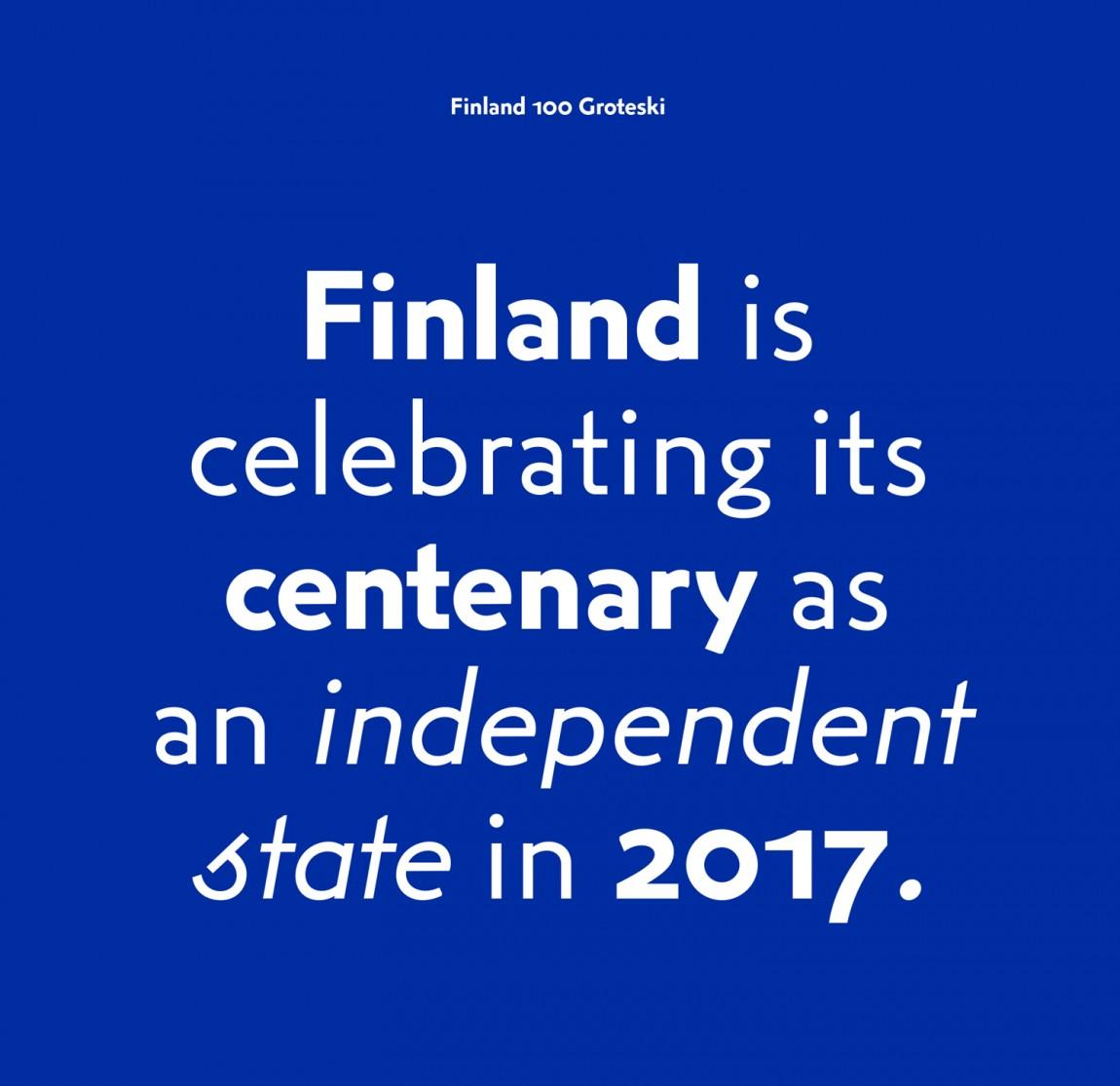 芬兰100周年活动城市品牌形象设计, 海报设计