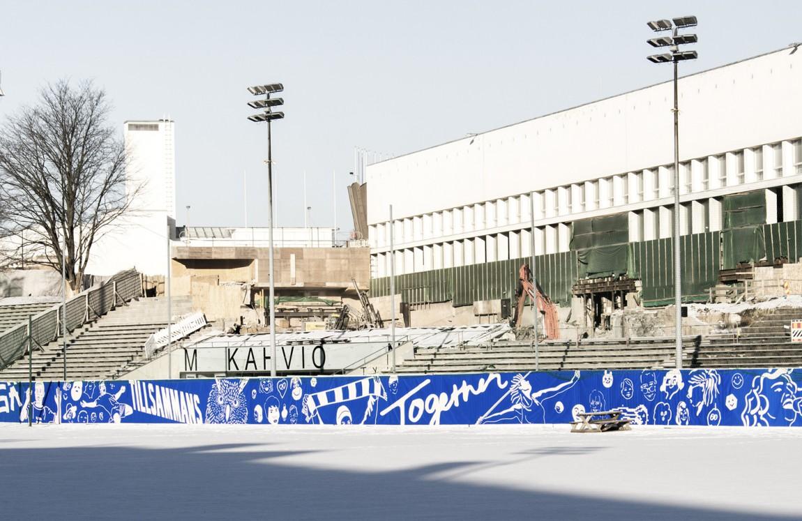 芬兰100周年活动城市品牌形象设计,前提广告设计