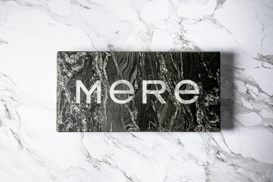 餐厅酒吧Mere餐饮品牌设计, logo设计