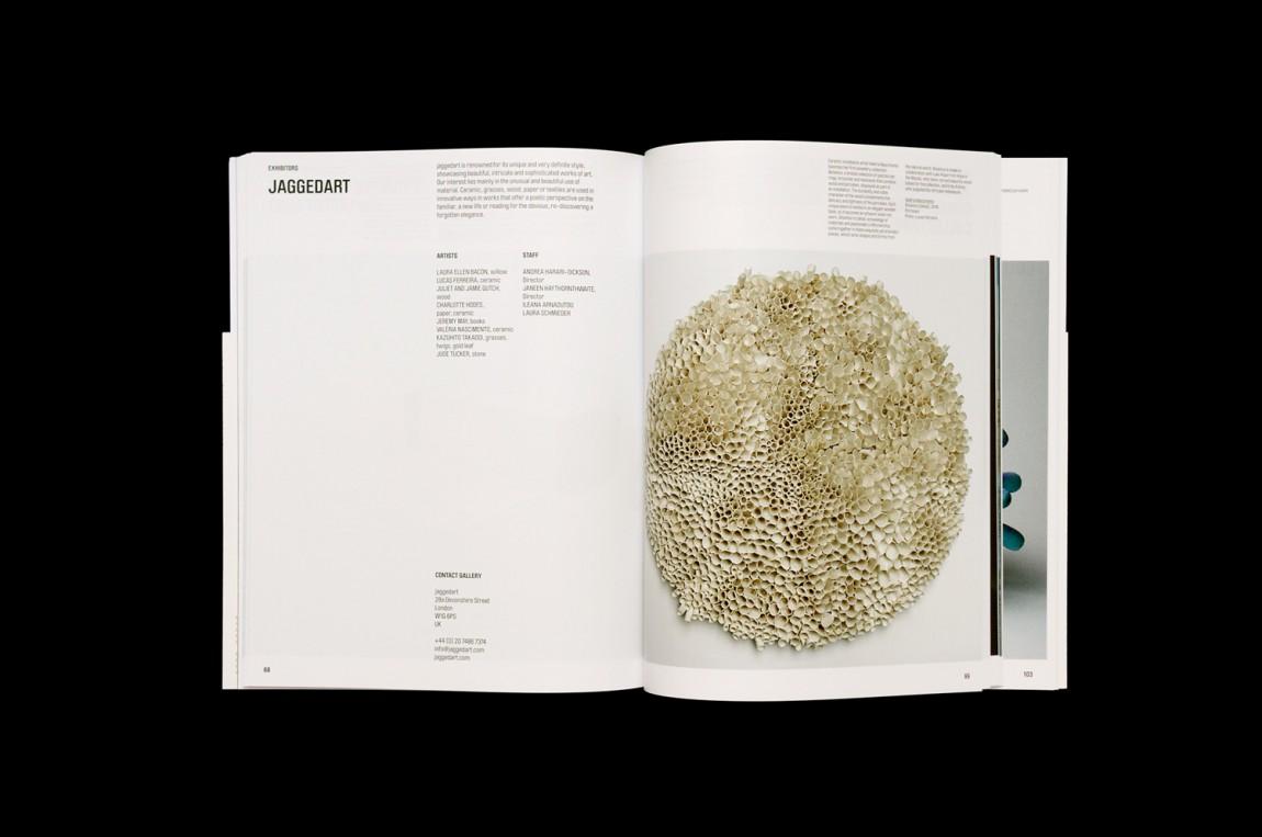 艺术博览会Collect品牌包装设计,画册设计