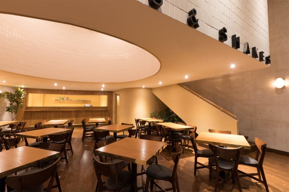 西餐厅品牌Orson餐饮vi设计,餐厅空间空间设计