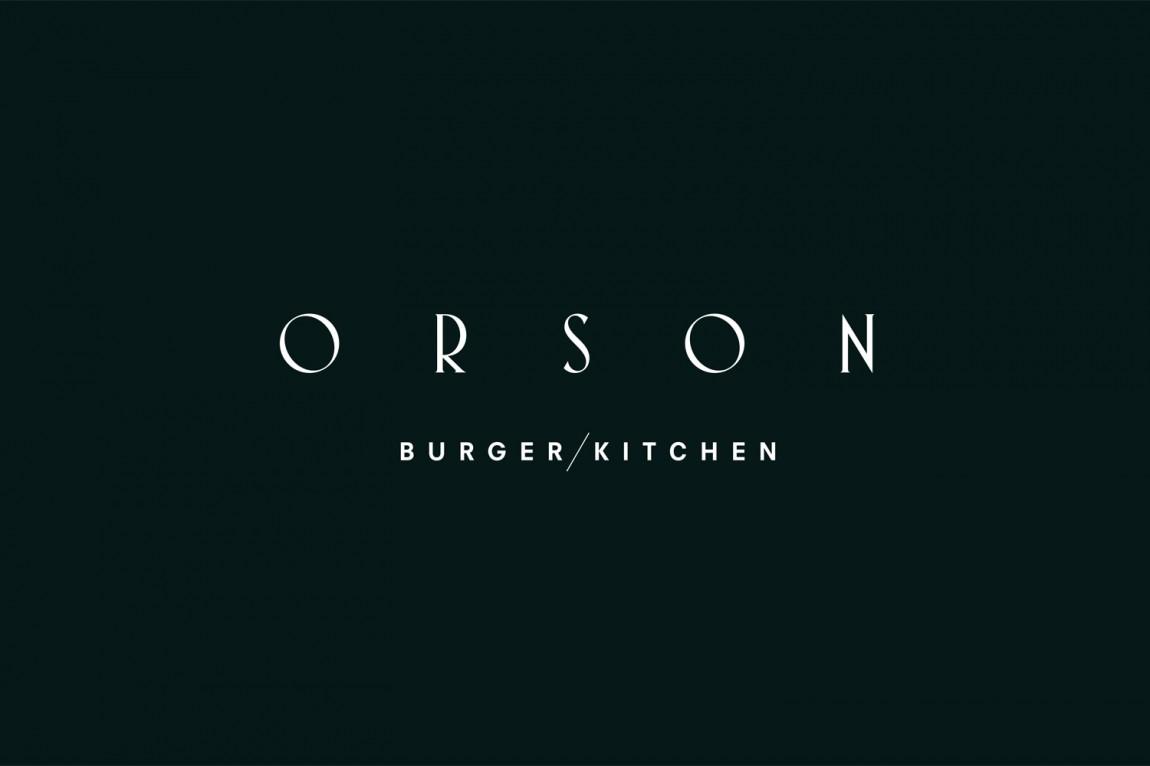西餐厅品牌Orson餐饮vi设计,商标设计