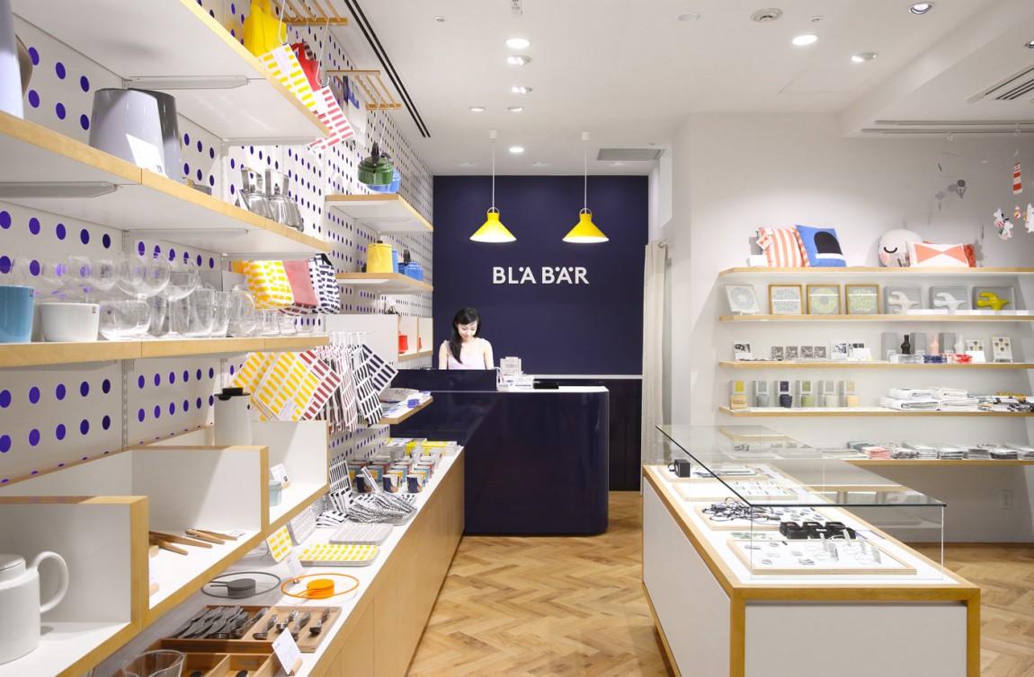 精品连锁店blabar品牌形象店视觉设计,空间设计