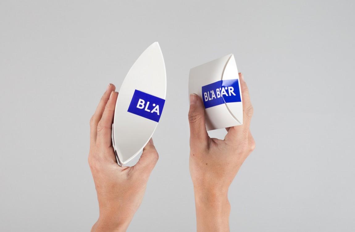 精品连锁店blabar品牌形象店视觉设计, 包装设计