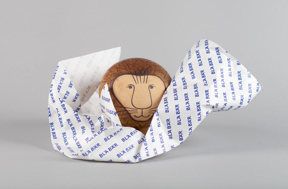 精品连锁店blabar品牌形象店视觉设计,包装纸设计