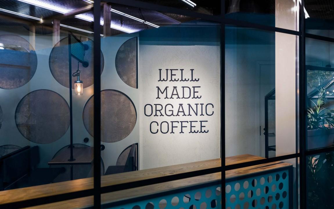 Well Coffee素食咖啡品牌形象塑造, 户外广告设计