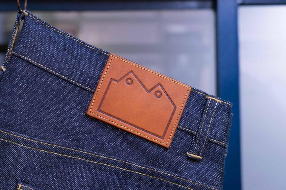 Blackhorsevis服装品牌形象设计,牛仔裤标签设计