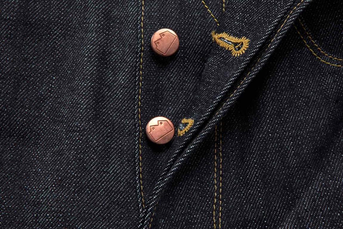Blackhorsevis服装品牌形象设计,扣子设计