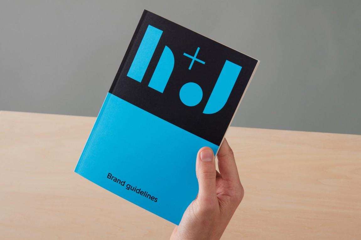 英国H+J餐饮企业餐厅品牌形象设计,VI手册设计,趣味与简约