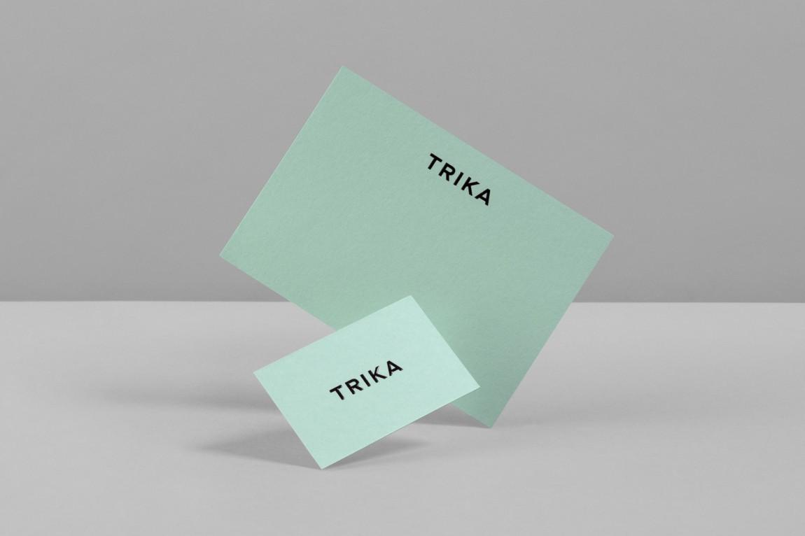 Trika室内设计公司品牌logo设计, 商标设计