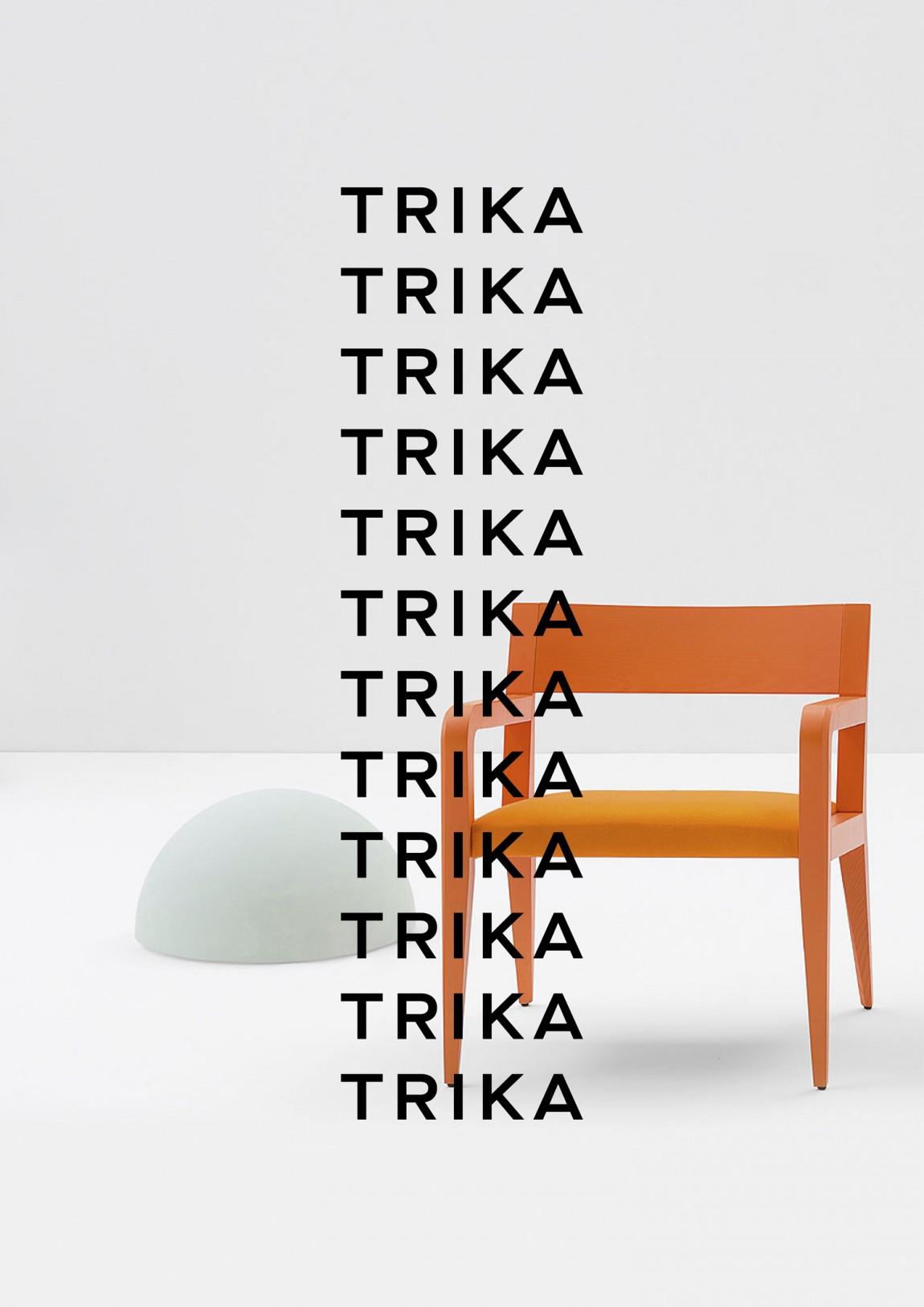 Trika室内设计公司品牌logo设计