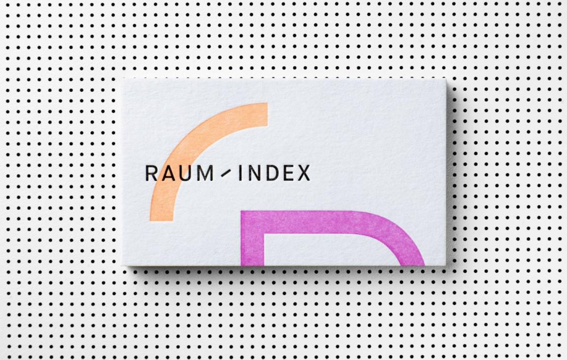 Raumindex零售空间设计公司品牌形象设计,办公应用设计