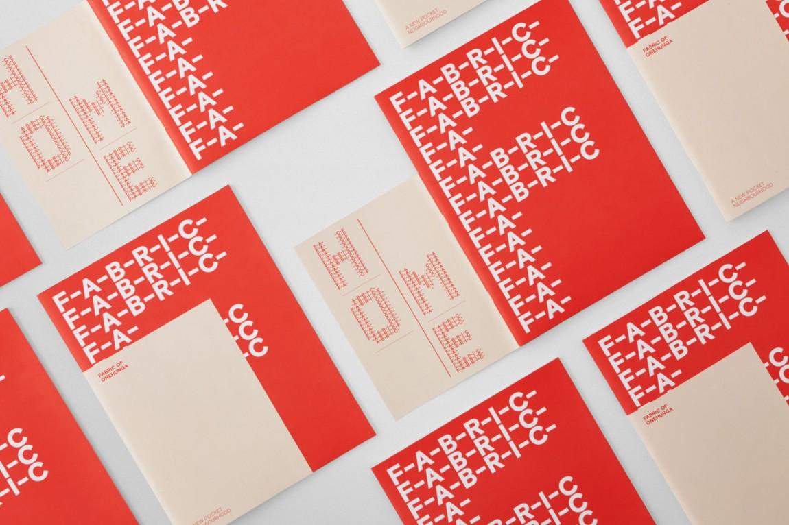 住宅公寓Fabric地产企业形象设计, VI手册设计