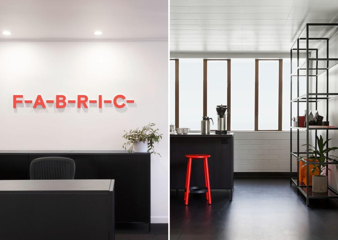 住宅公寓Fabric地产企业形象设计,办公空间设计