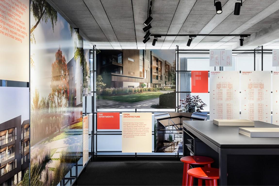 住宅公寓Fabric地产企业形象设计,商业空间设计