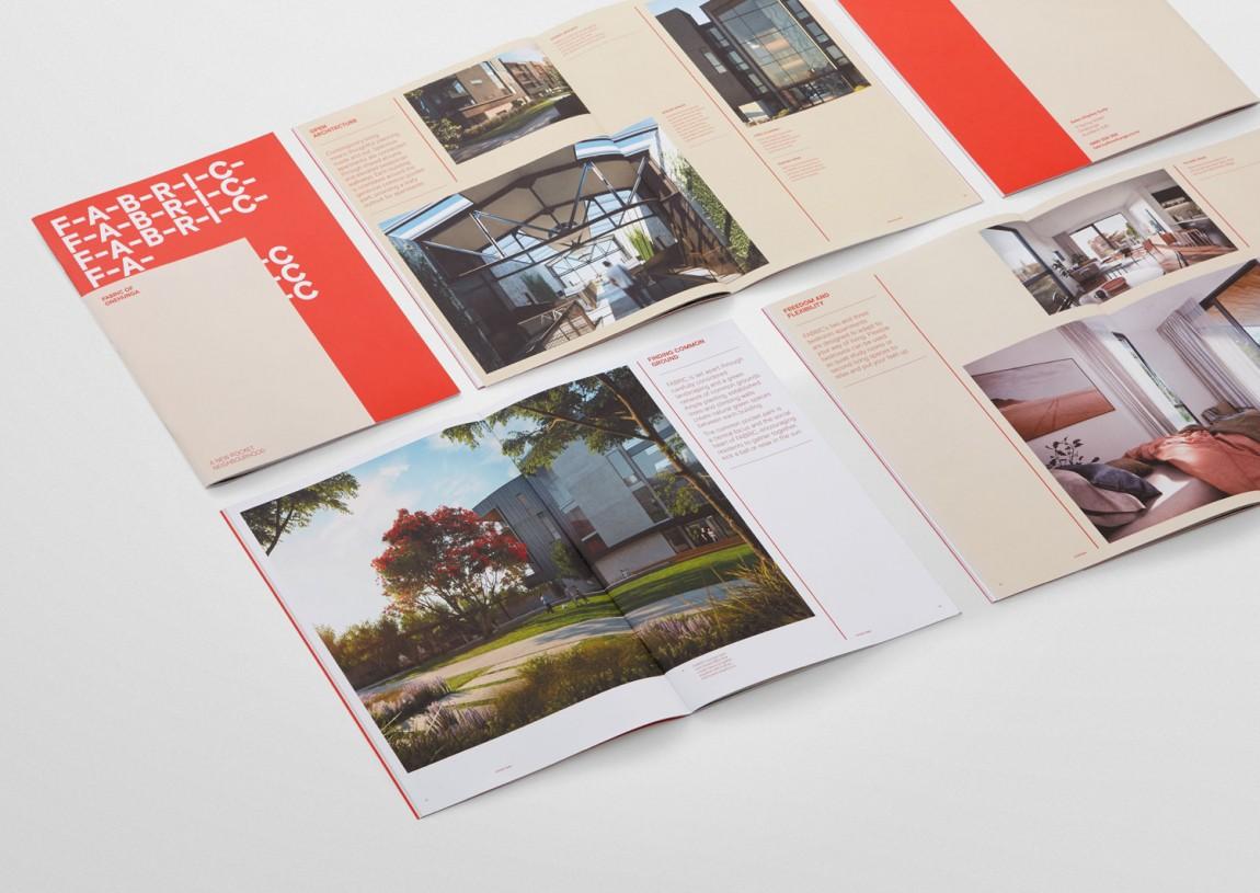 住宅公寓Fabric地产企业形象设计,画册设计
