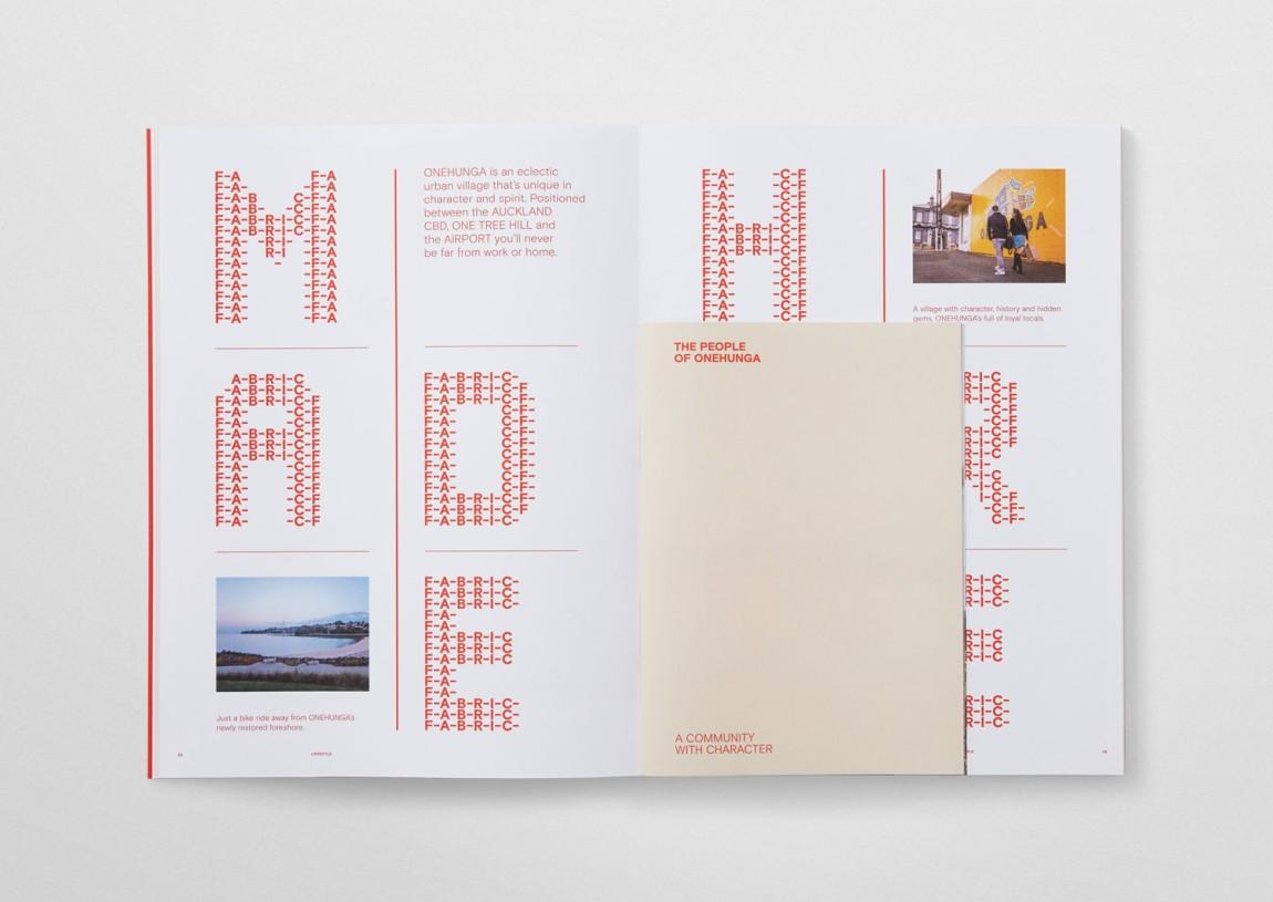 住宅公寓Fabric地产企业形象设计, 公司画册设计