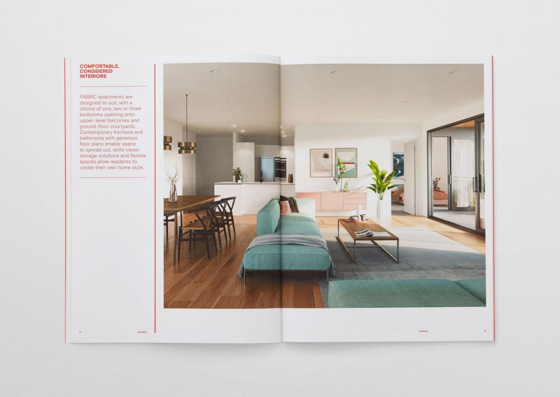 住宅公寓Fabric地产企业形象设计,企业画册设计