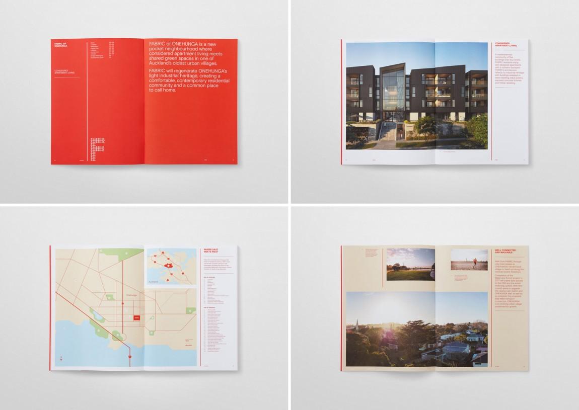 住宅公寓Fabric地产企业形象设计,VI手册设计