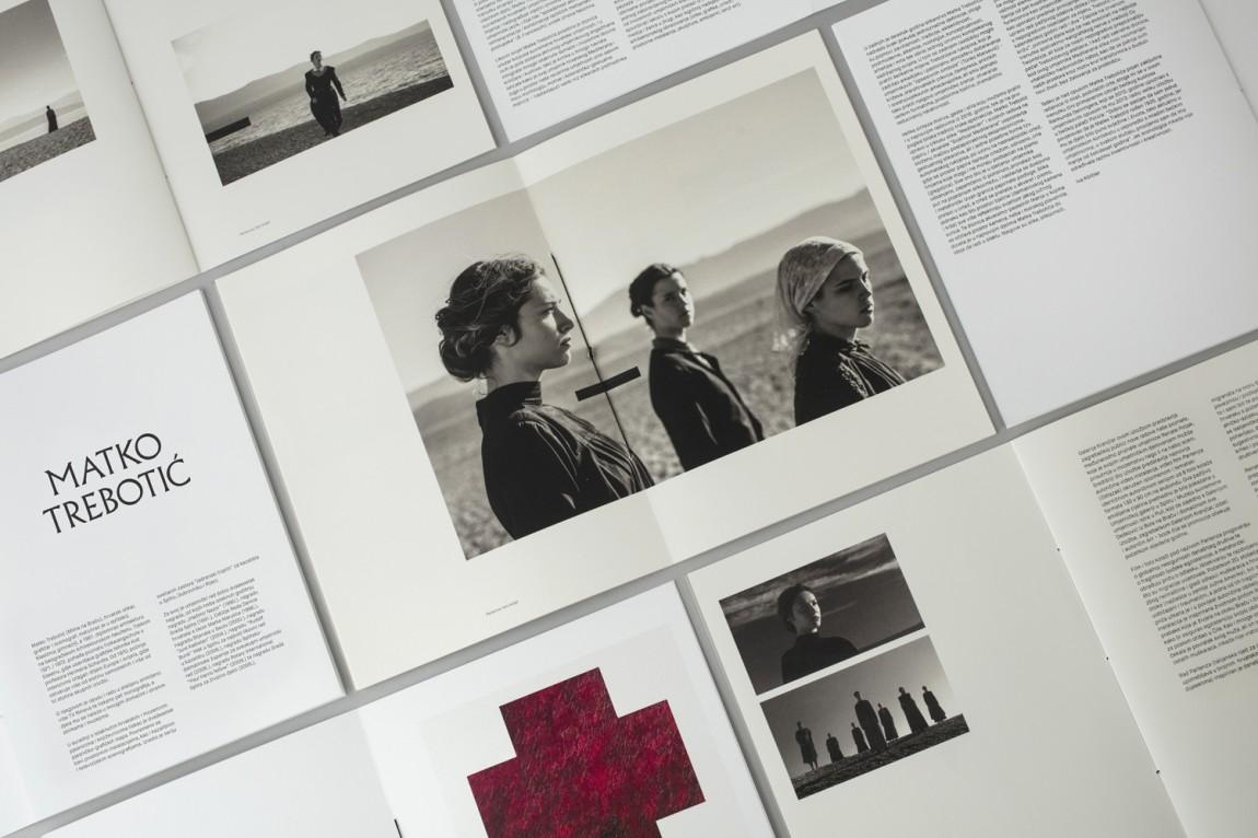 艺术画廊文化活动中心视觉传达设计,画册设计