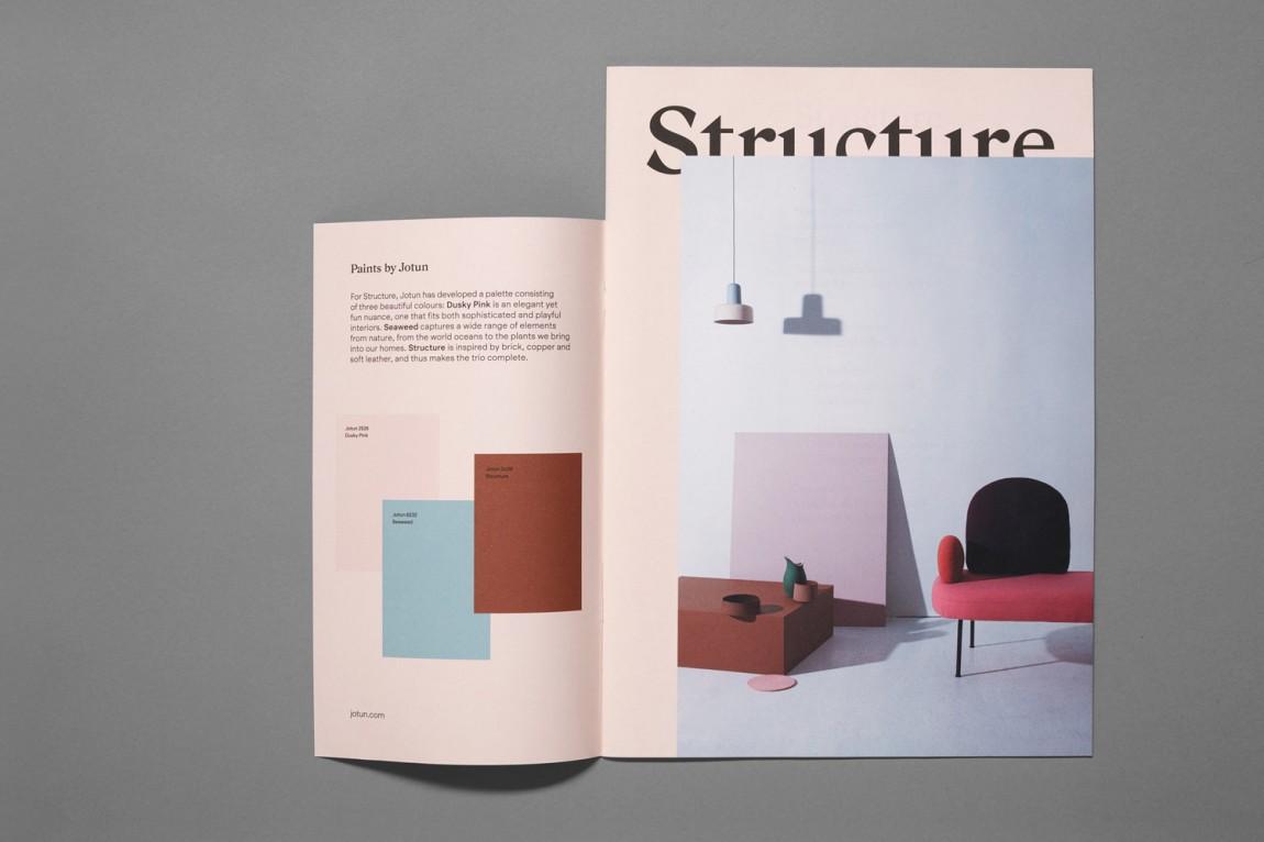 挪威当代工艺与设计展vi形象设计,画册设计